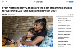 From Netflix to Revry, these are the best streaming services for watching LGBTQ movies and shows in 2021